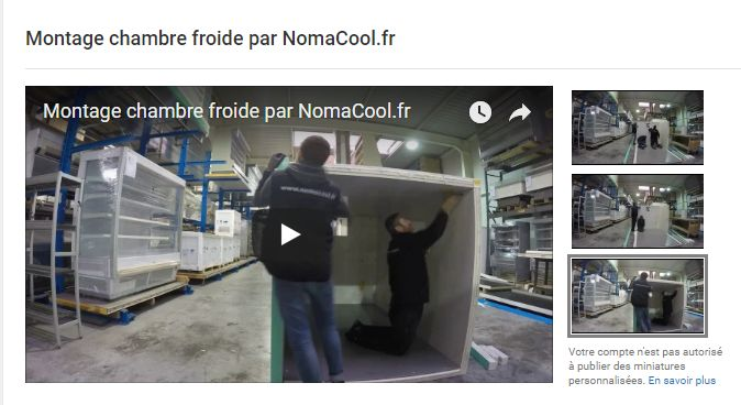 Video van montage frigocel
