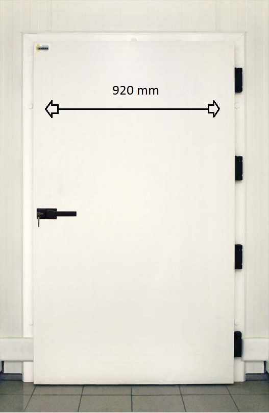 Plus value porte 920 x 2020 mm chambre sans sol