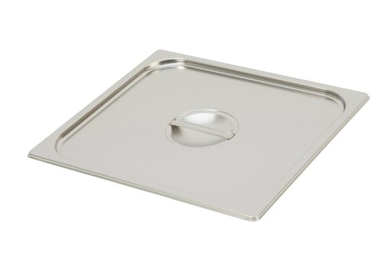 Couvercle inox pour bac gastro GN 2/3